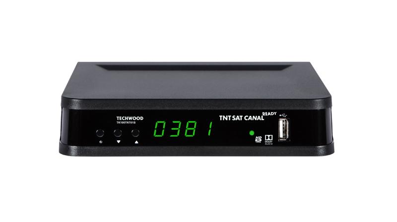 Terminal numerique TECHWOOD TNTSAT HD - TK100TNT01B