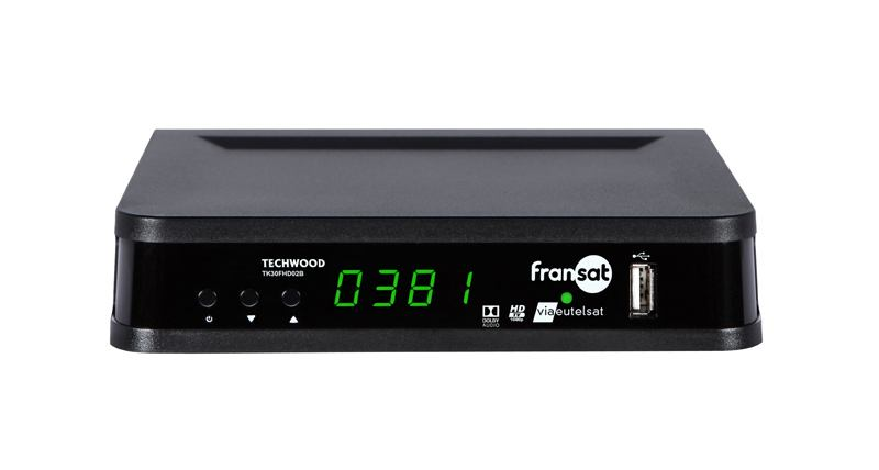 Terminal numerique TECHWOOD FRANSAT HD TK30FHD02B