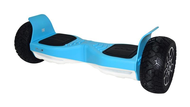 Hoverboard 8,5 FIAT 500X bleu ciel