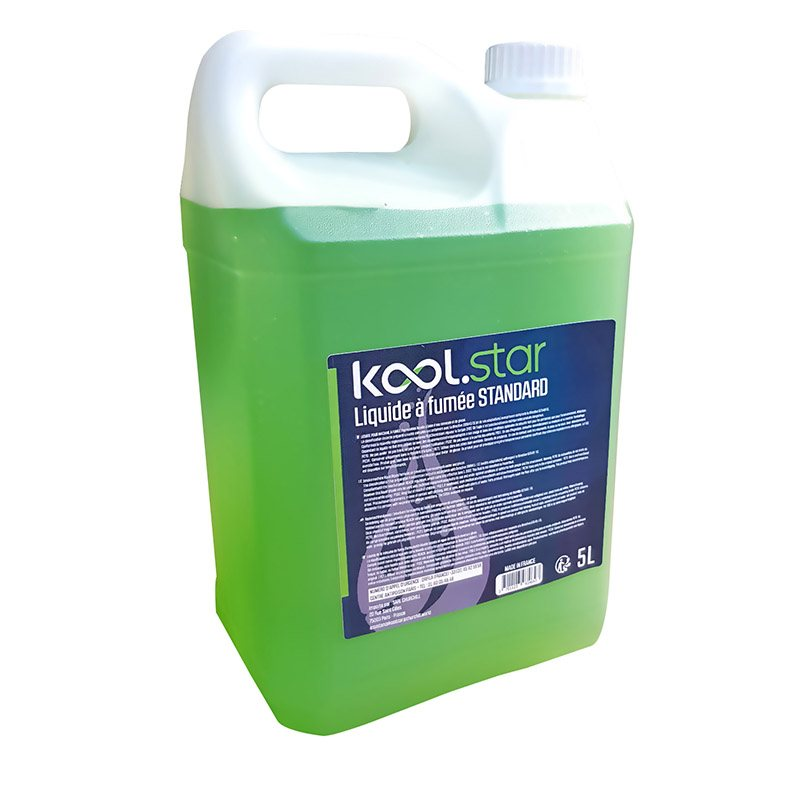 LIQUIDE MACHINE À FUMÉE KOOL.STAR densite standard 5L (photo)