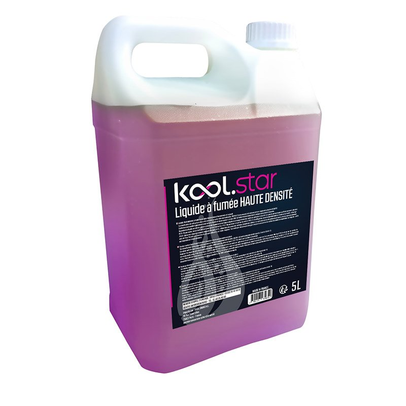 Liquide Machine à fumee KOOL.STAR haute densite 5L (photo)