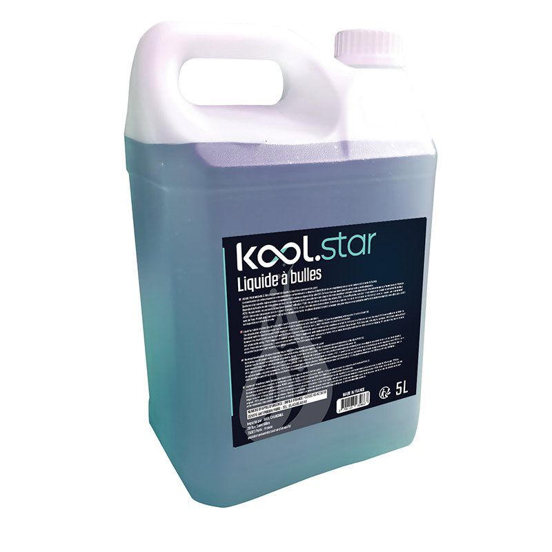 Liquide Machine à Bulles KOOL.STAR 5L (photo)