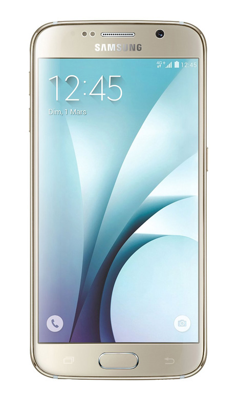 Smartphone SAMSUNG Galaxy S6 32 Go Or reconditionne grade A+