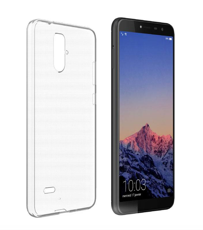 Coque TPU HISENSE F24 transparent (photo)