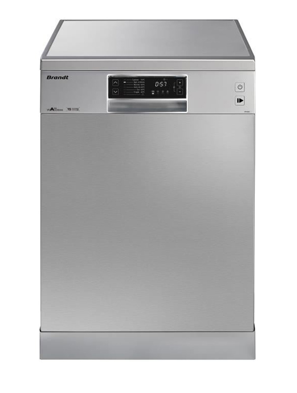 Lave-vaisselle 15 couverts BRANDT DFH15624X (photo)