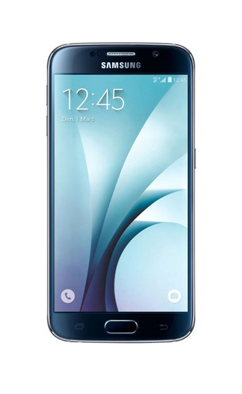 Smartphone SAMSUNG GALAXY s6 32 Go noir reconditionne grade A+
