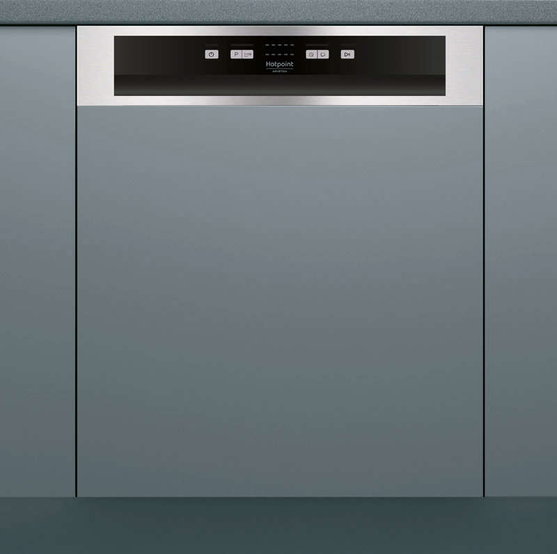 Lave-vaisselle semi-integrable HOTPOINT HBC 2B+26X (photo)