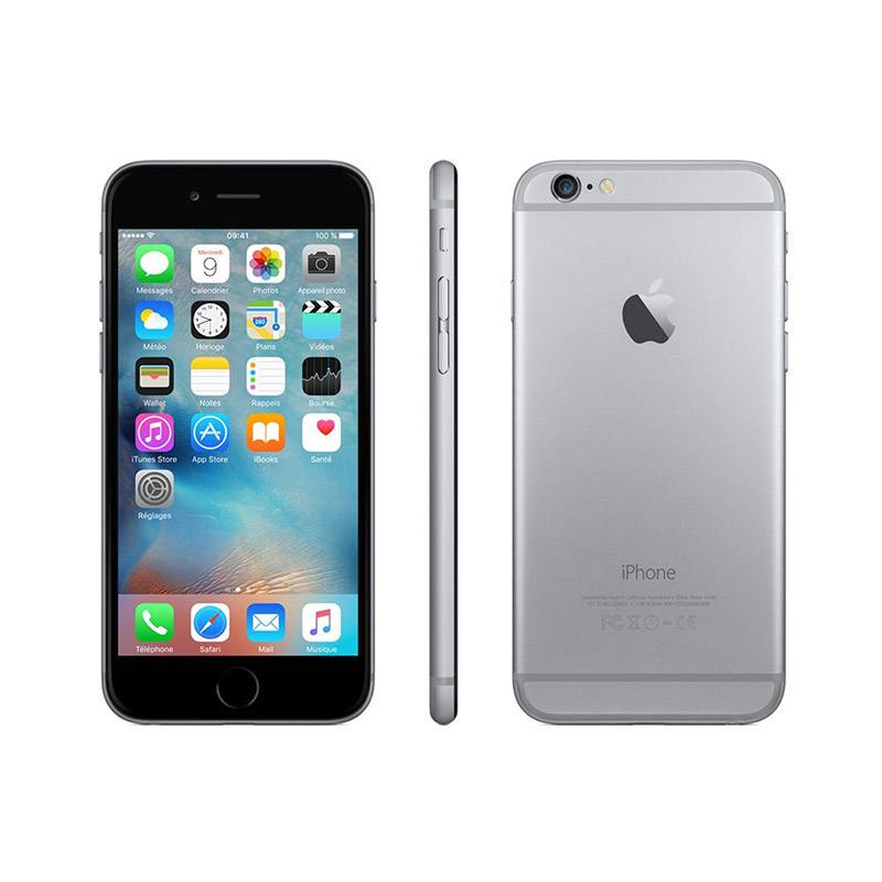 APPLE iPhone 6 128 Go sideral grey reconditionne grade A+ (photo)