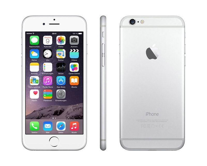 APPLE iPhone 6 128 Go Silver reconditionne grade A+ (photo)