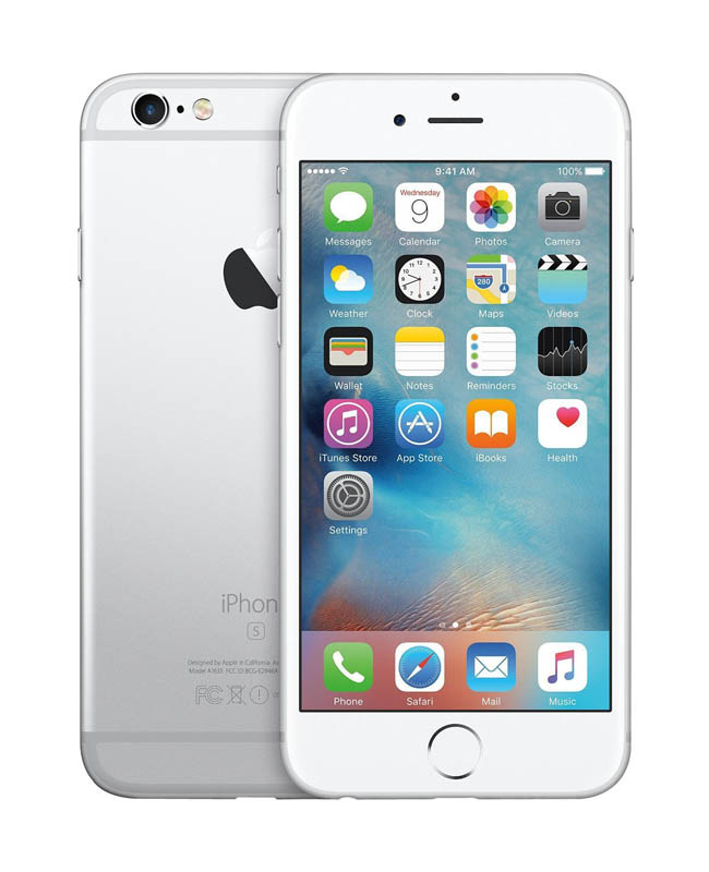 APPLE iPhone 6s+ 16 Go Silver reconditionne GRADE A+ (photo)