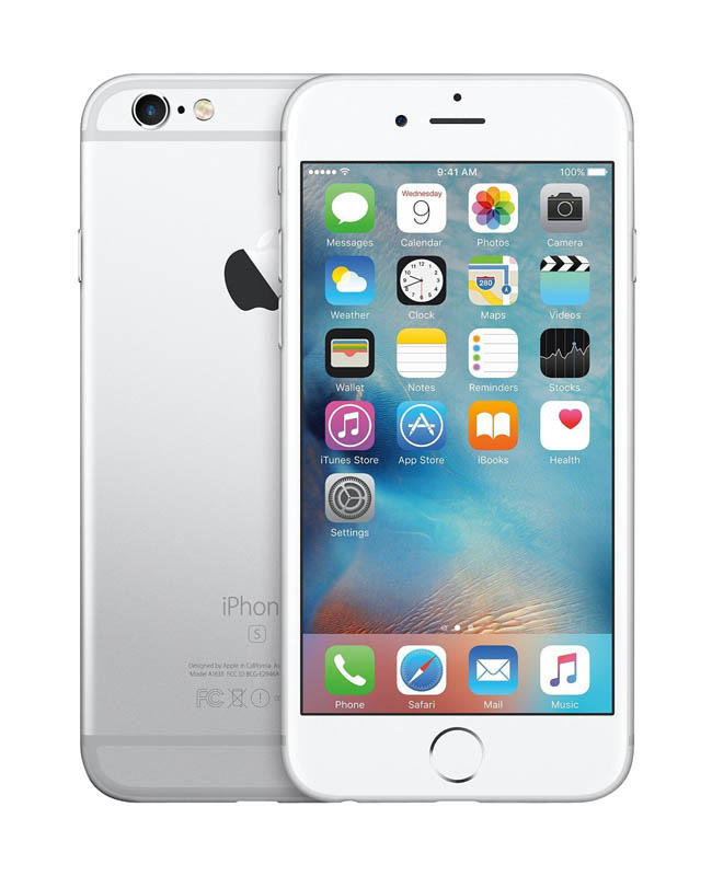 APPLE iPhone 6s+ 64 Go Silver reconditionne GRADE A+ (photo)