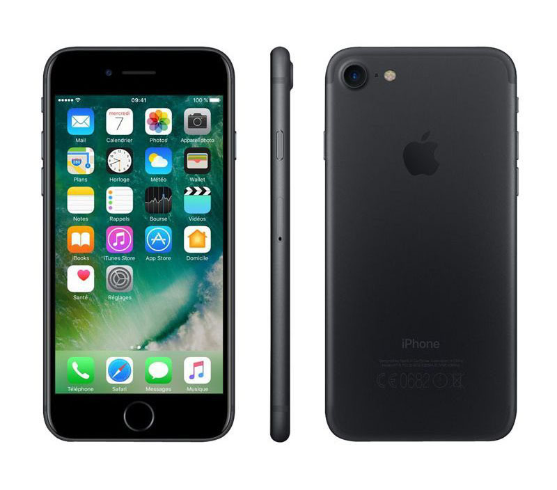 APPLE iPhone 7 128 Go Black reconditionne grade A+