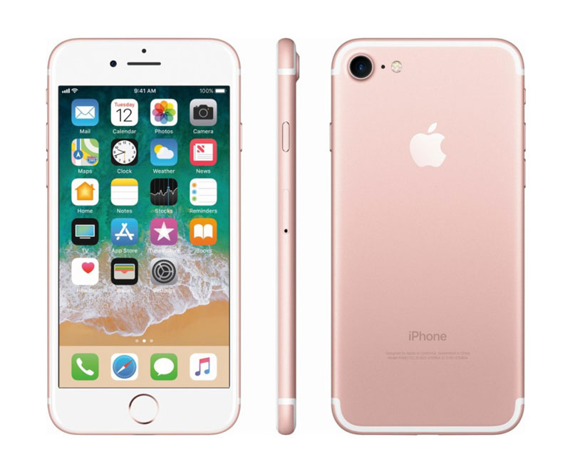 APPLE iPhone 7 128 Go Pink Gold reconditionne grade A+