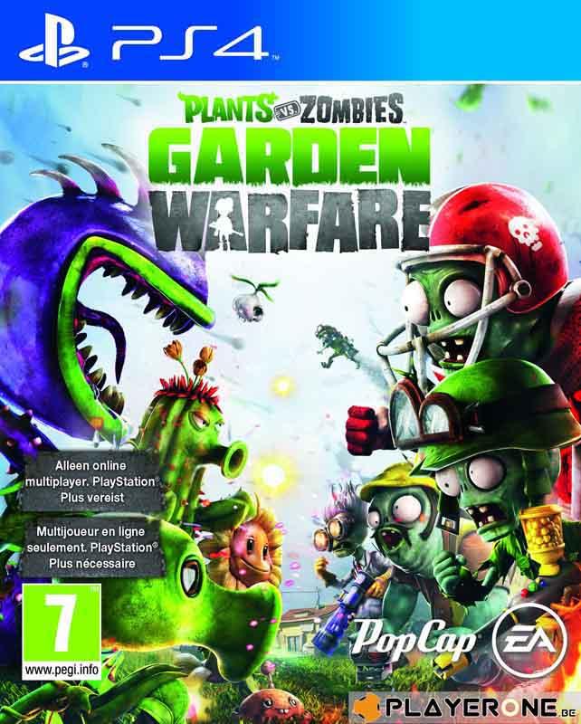 Jeu video PS4 PLANTS VS ZOMBIE GARDEN WARFARE (photo)