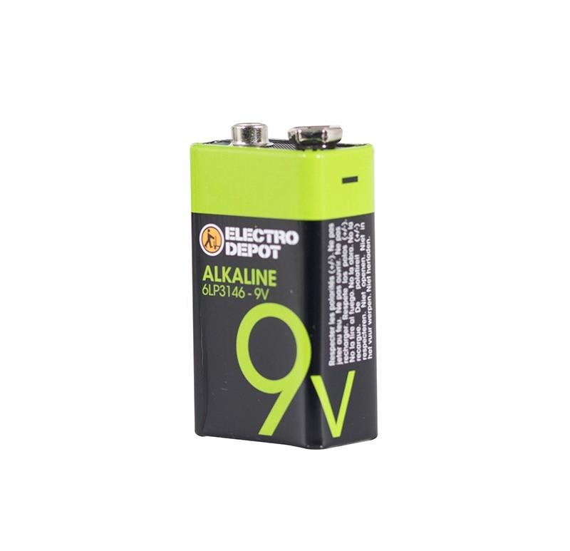 Pile ELECTRO DÉPÔT Alkaline 6LR21 x 1 (photo)