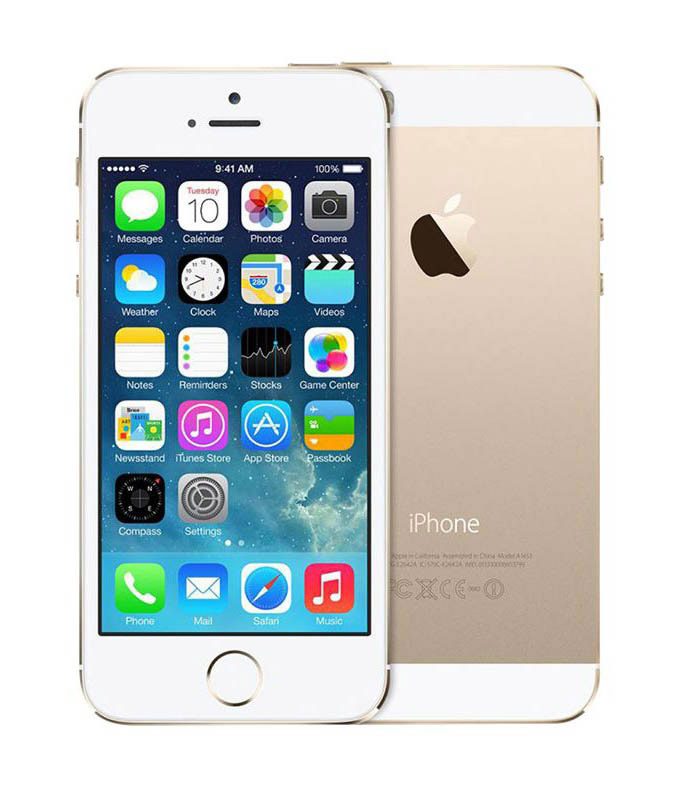 APPLE iPhone 5S 64 Go Gold reconditionne grade A+