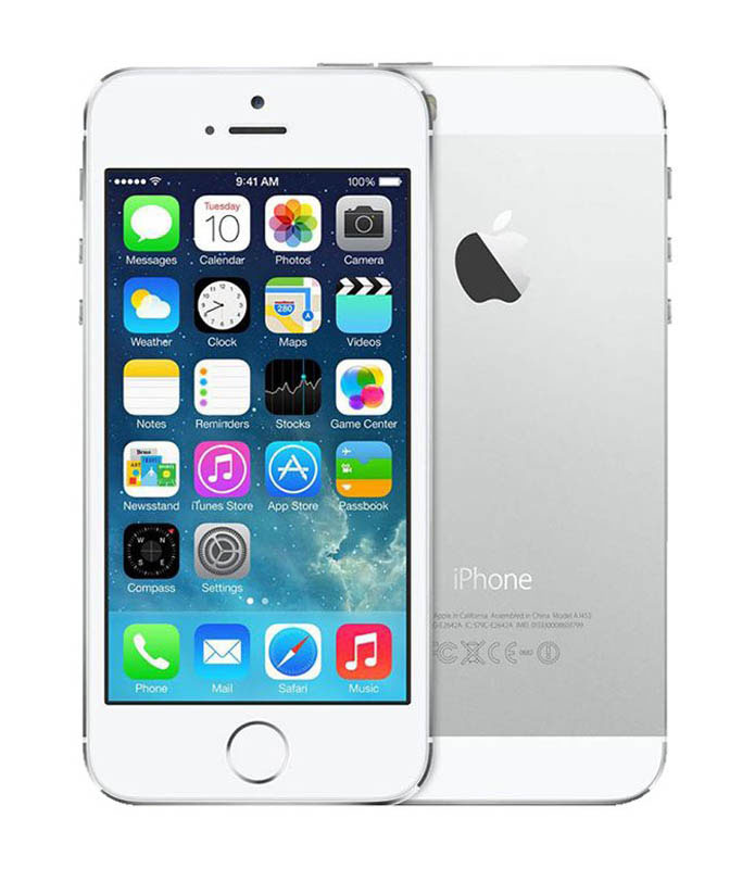 Apple Iphone 5s 64 go silver reconditionne grade a+
