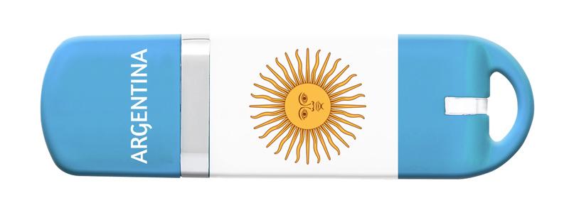 Cle USB 16 go KEYOUEST nation Argentine (photo)