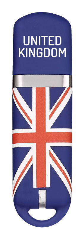 Cle USB 16 go KEYOUEST nation Grande Bretagne