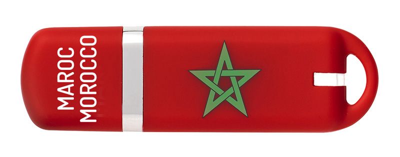 Cle USB 16 go KEYOUEST nation Maroc (photo)