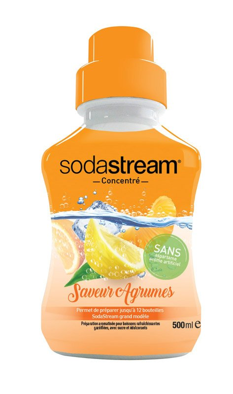 Concentré Sodastream Agrumes 500ml (photo)