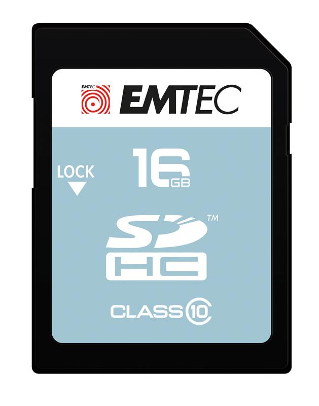 Carte SD 16 GO EMTEC class 10/20