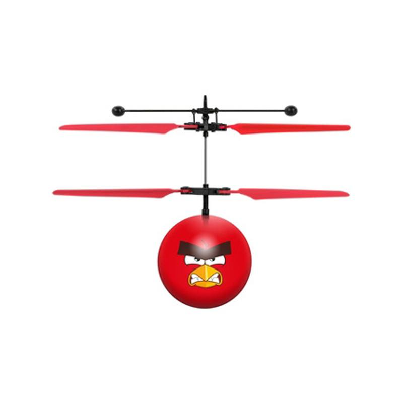 Mini helicoptère Angry Birds (photo)