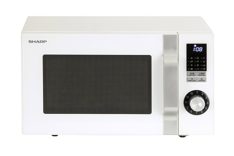 Micro-ondes grill SHARP R-644W