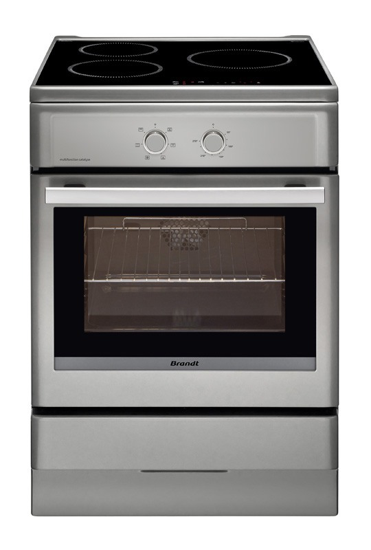 Cuisinière induction BRANDT BCI 6640 T (photo)