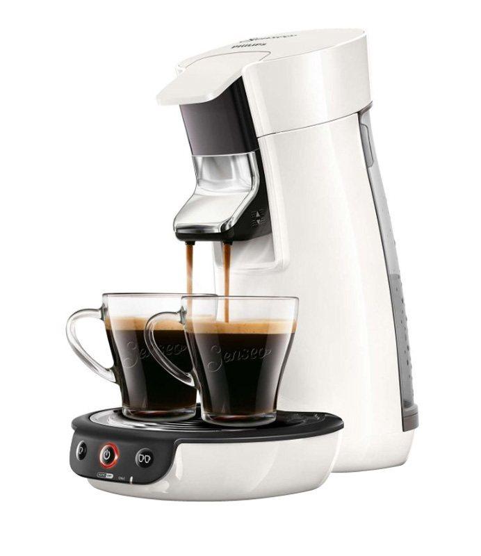 Cafetière SENSEO HD7829/01 VIVA Blanc
