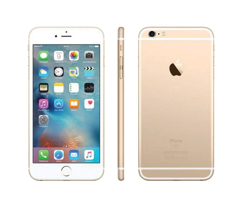 APPLE iPhone 6+ 128 Go Gold reconditionne grade A+