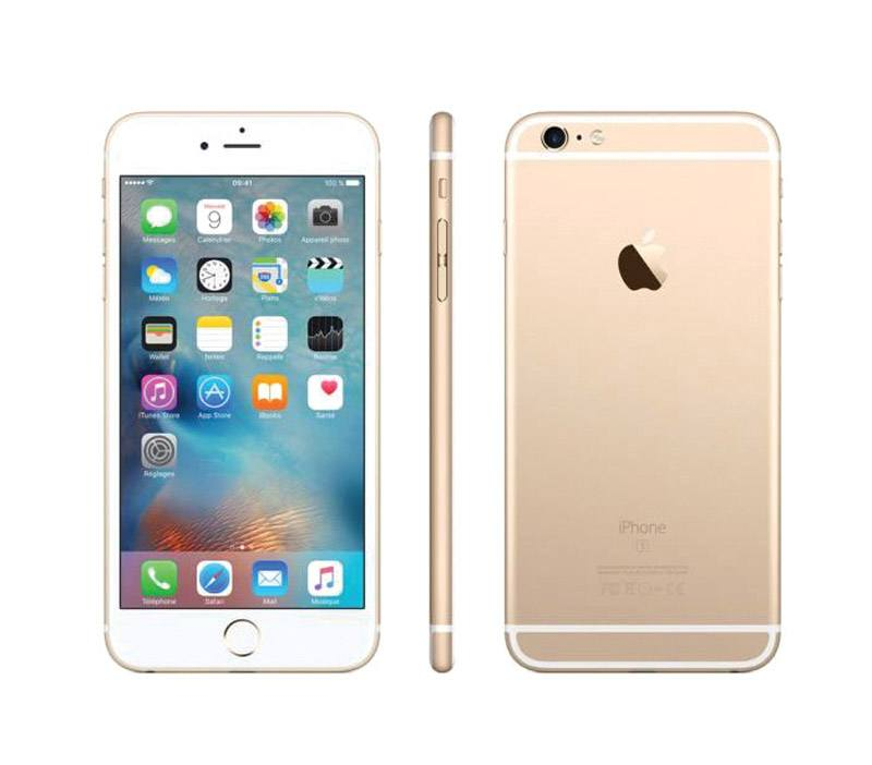 APPLE iPhone 6+ 64 Go Gold reconditionne grade A+