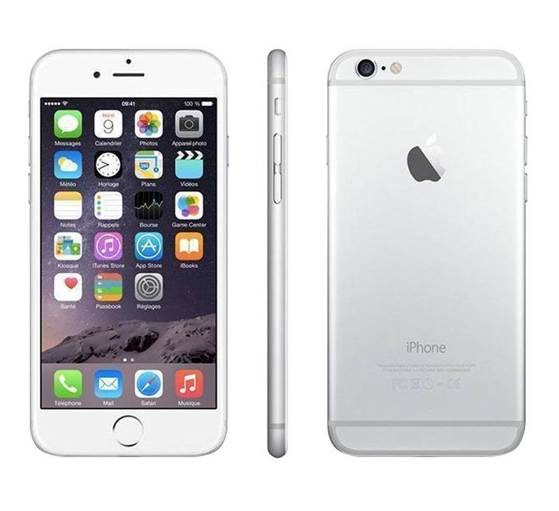 APPLE iPhone 6+ 64 Go Silver reconditionne grade A+