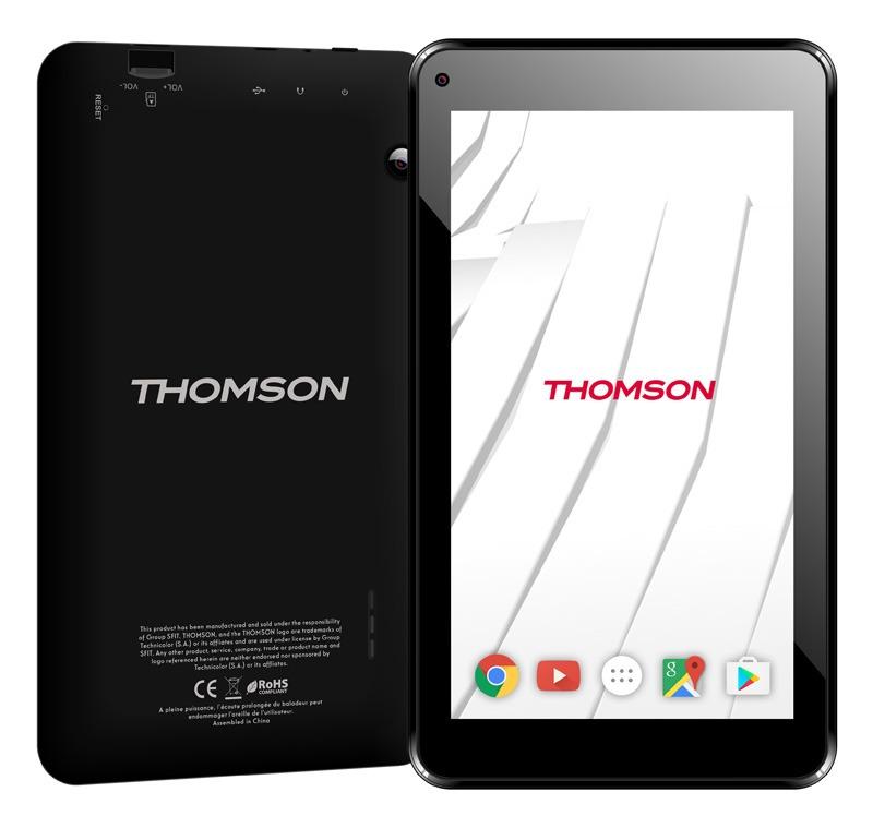 Tablette 7 THOMSON TEO7-8S noir (photo)