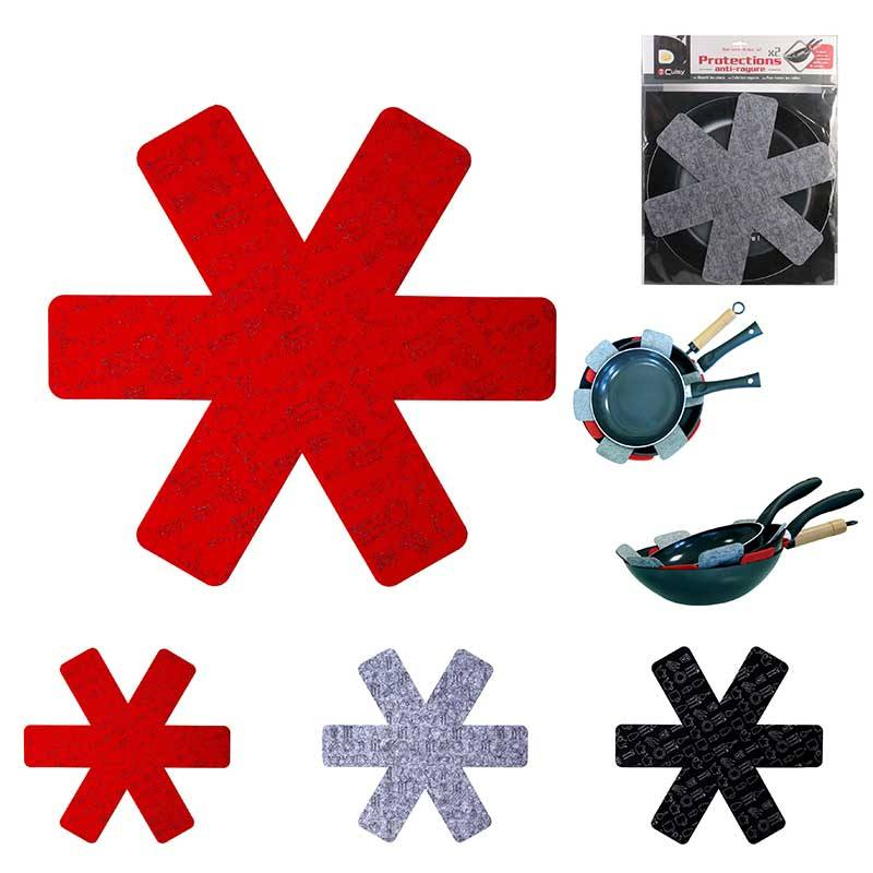Protections Poêles X3 Tailles Différentes