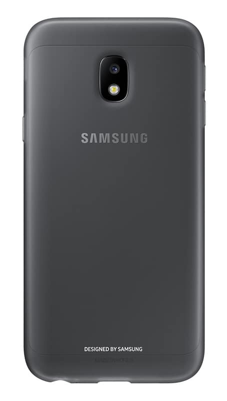 Coque SAMSUNG Souple Galaxy J3 2017 Noir (photo)