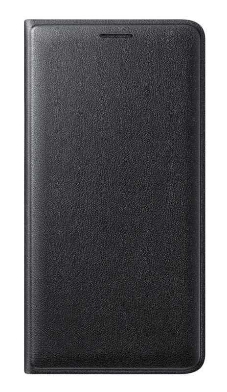 Folio Case SAMSUNG Flip Wallet Galaxy J3 2016 Noir