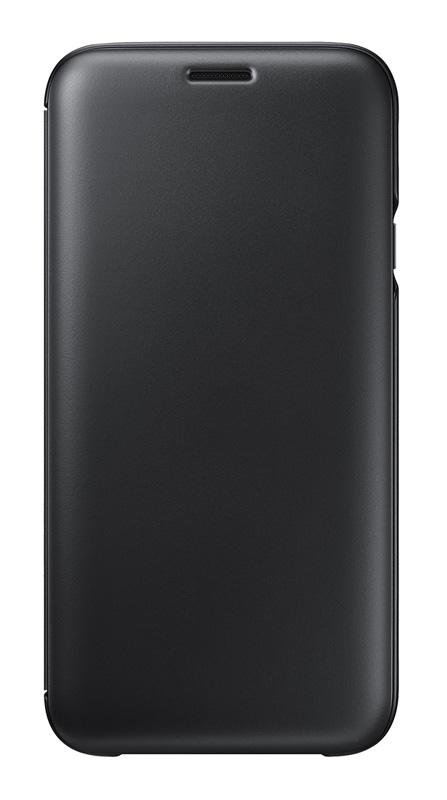 Folio Case SAMSUNG Flip Wallet Galaxy J7 2017 Noir