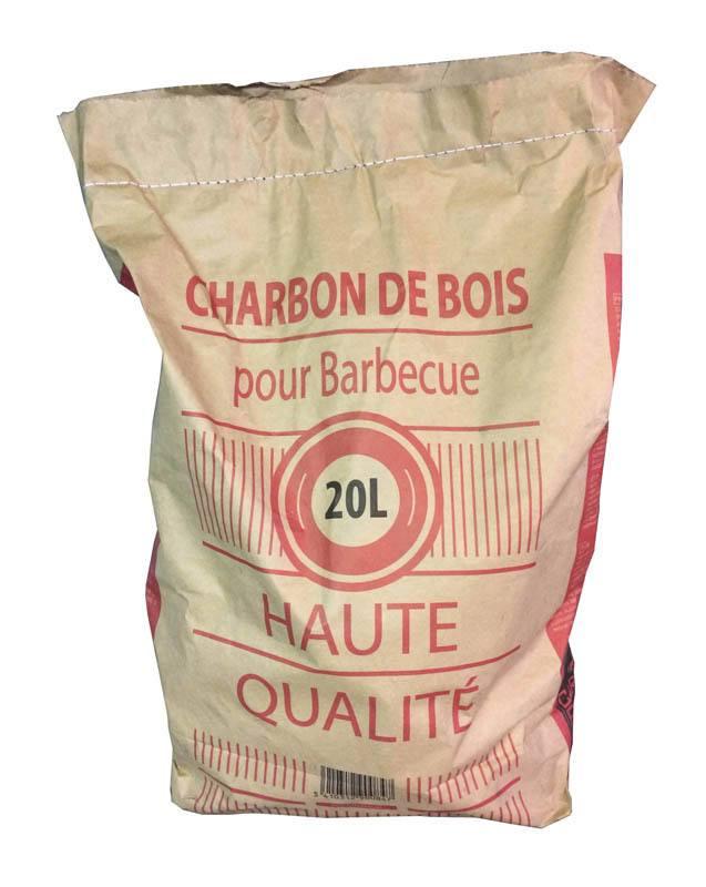 Sac Charbon bois 20L (photo)