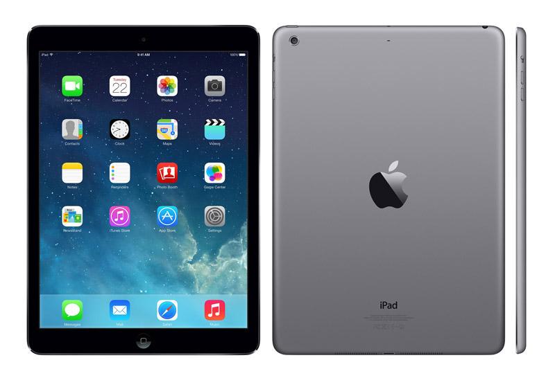 APPLE iPad Air 32 go noir reconditionne grade A+ (photo)