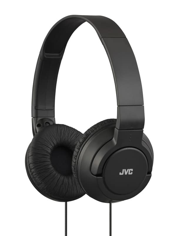 Casque JVC HA-S180 noir (photo)