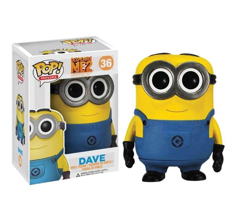 Figurine POP Minion Despicable Me Dave (photo)