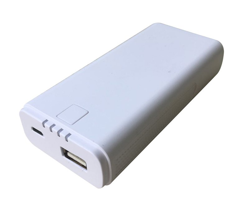 Batterie de secours ON.EARZ 4000mAh 2.1A Blanc (photo)