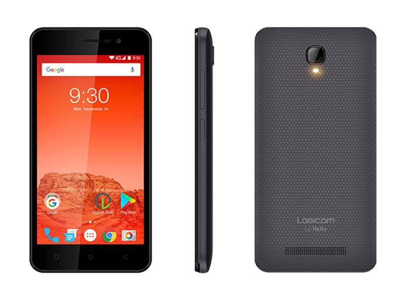 Smartphone LOGICOM Le HELLO 5 4G Gris (photo)