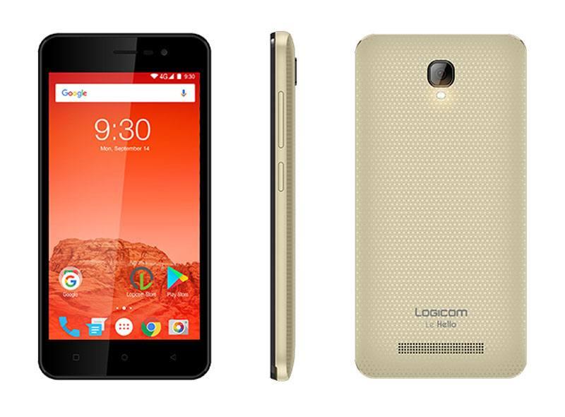SMARTPHONE LOGICOM LE HELLO 5 4G OR (photo)