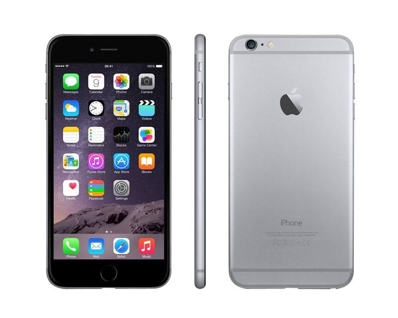 APPLE iPhone 6+ 128 Go Sideral Grey reconditionne grade A+