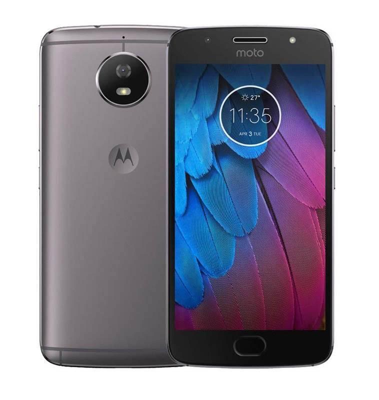 Smartphone MOTOROLA G5s Gris (photo)
