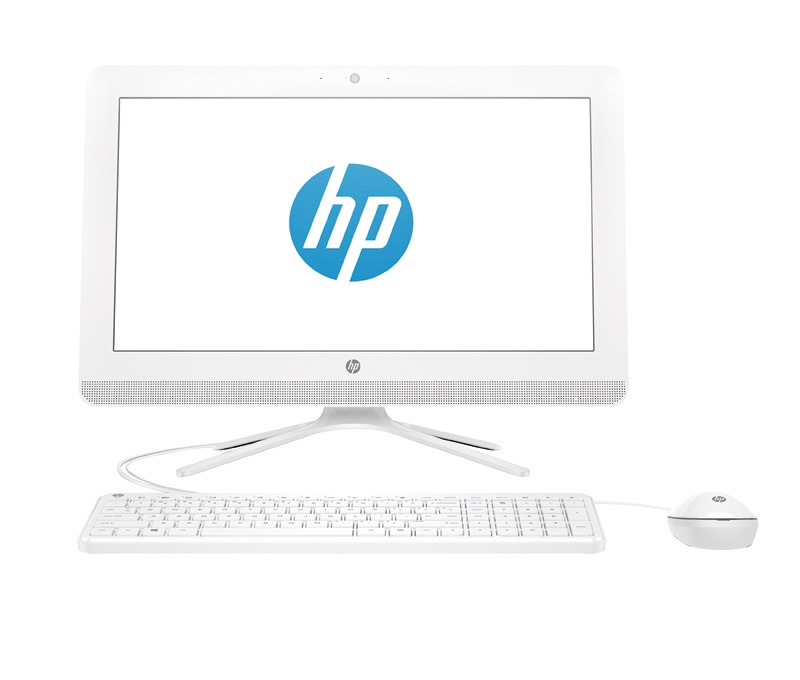 Ordinateur tout en un HP 22-b011nf blanc W3C75EA