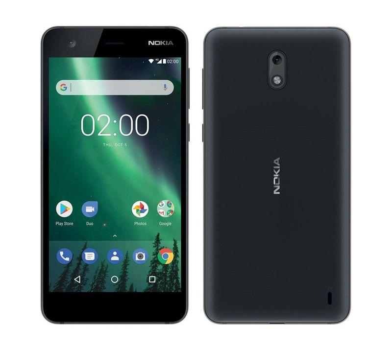 Smartphone NOKIA 2 HD 4G Noir (photo)