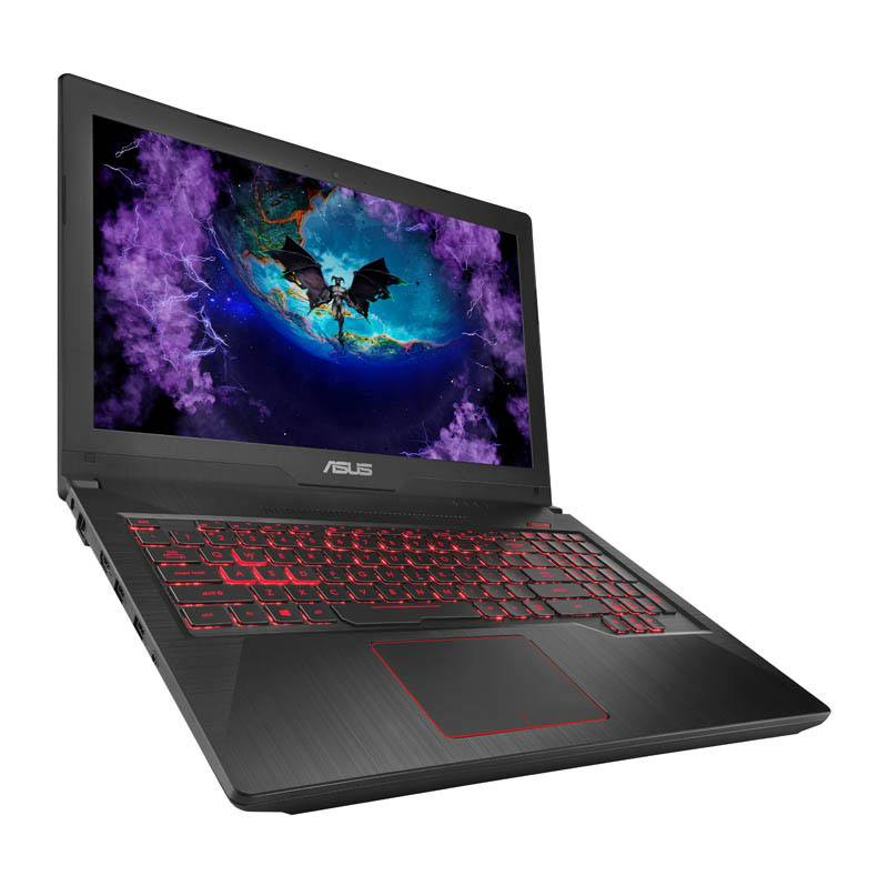 Ordinateur portable Gaming 15,6 ASUS FX503VD-DM085T noir et rouge (photo)